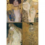 Puzzle  Piatnik-5388 Klimt Gustav : Collection d'oeuvres