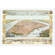 Puzzle  Piatnik-5429 Plan de New York, 1853