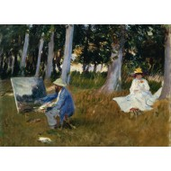 Puzzle  Grafika-Kids-00102 Claude Monet by John Singer Sargent, 1885