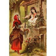 Puzzle  Grafika-Kids-00133 Blanche Neige, Illustration par Carl Offterdinger