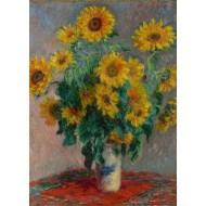 Puzzle  Grafika-Kids-00458 Claude Monet: Bouquet de Tournesols, 1881
