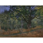 Puzzle  Grafika-Kids-00472 Claude Monet: Fontainebleau, 1865