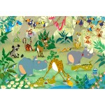 Puzzle  Grafika-Kids-00872 François Ruyer : Jungle