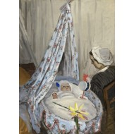 Puzzle  Grafika-Kids-01015 Claude Monet - The Cradle - Camille with the Artist's Son Jean, 1867