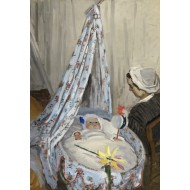 Puzzle  Grafika-Kids-01016 Pièces XXL - Claude Monet - The Cradle - Camille with the Artist's Son Jean, 1867