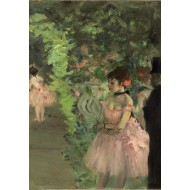 Puzzle  Grafika-Kids-01277 Edgar Degas : Danseuse en Coulisse, 1876/1883