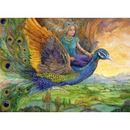 Puzzle  Grafika-Kids-01560 Josephine Wall - Peacock Princess