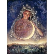 Puzzle  Grafika-Kids-01583 Josephine Wall - Moon Goddess