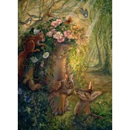 Puzzle  Grafika-Kids-01597 Josephine Wall - The Wood Nymph