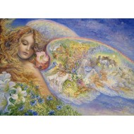 Puzzle  Grafika-Kids-01599 Josephine Wall - Wings of Love