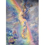 Puzzle  Grafika-Kids-01601 Josephine Wall - Iris, Keeper of the Rainbow