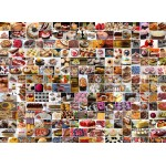 Puzzle  Grafika-Kids-01611 Collage - Gâteaux