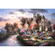 Puzzle  Grafika-Kids-01879 Pièces XXL - Dennis Lewan - Mill Creek Manor