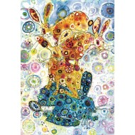 Puzzle  Grafika-Kids-02076 Sally Rich - Devon Hare Stack