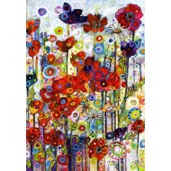 Puzzle  Grafika-Kids-02088 Sally Rich - Poppies