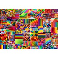 Puzzle  Grafika-Kids-02111 Collage - Couleurs