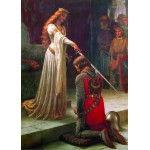 Puzzle  Gold-Puzzle-60959 Leighton Edmund Blair : The Accolade