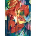 Puzzle  Art-by-Bluebird-60068 Franz Marc - The Foxes, 1913