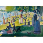 Puzzle  Art-by-Bluebird-60086 Georges Seurat - A Sunday Afternoon on the Island of La Grande Jatte, 1886