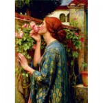 Puzzle  Art-by-Bluebird-60096 John William Waterhouse - The Soul of the Rose, 1903