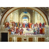 Puzzle  Art-by-Bluebird-Puzzle-60013 Raphael - The School of Athens, 1511