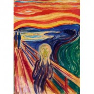 Puzzle  Art-by-Bluebird-Puzzle-60058 Munch - The Scream, 1910