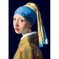 Puzzle  Art-by-Bluebird-Puzzle-60065 Vermeer- Girl with a Pearl Earring, 1665