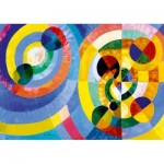 Puzzle  Art-by-Bluebird-Puzzle-60081 Robert Delaunay - Circular Forms, 1930