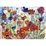Puzzle  Art-by-Bluebird-Puzzle-60121 Sally Rich - Poppies