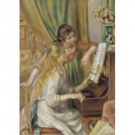 Puzzle  Art-by-Bluebird-Puzzle-60126 Auguste Renoir - Young Girls at the Piano, 1892