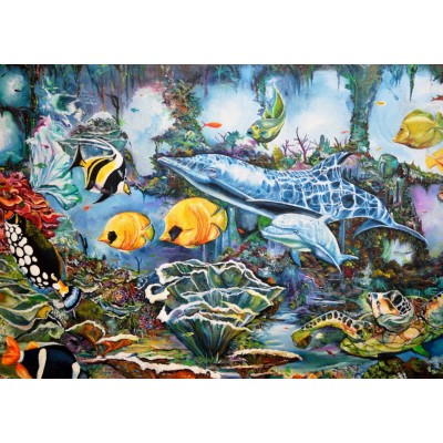 Puzzle Bluebird-Puzzle-70034 Underwater World