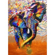 Puzzle  Bluebird-Puzzle-70101 African Colours