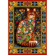 Puzzle  Bluebird-Puzzle-70153 Tapestry Cat