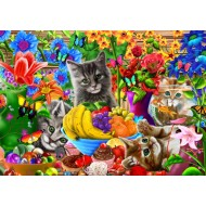 Puzzle  Bluebird-Puzzle-70183 Kitten Fun