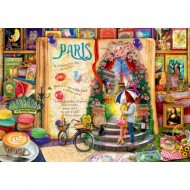 Puzzle  Bluebird-Puzzle-70262-P Life is an Open Book Paris