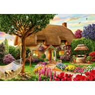 Puzzle  Bluebird-Puzzle-70319-P Thatched Cottage
