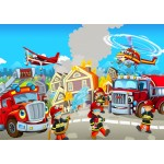 Puzzle  Bluebird-Puzzle-70362 Fire Rescue Team