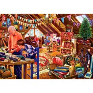Puzzle  Bluebird-Puzzle-70433 Attic Playtime