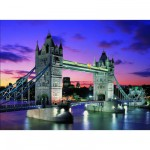 Educa-10113 Puzzle phosphorescent - Tower Bridge de Londres