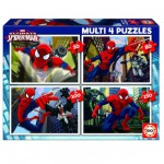 Educa-15642 4 Puzzles Progressifs - Spiderman