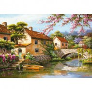 Puzzle  Educa-15813 Sung Kim - Cottage