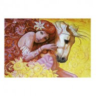 Puzzle  Educa-16306 Adrian Borda : I Simply Bloom In Sunny Days