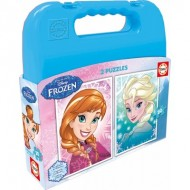 Educa-16511 2 Puzzles - La Reine des Neiges