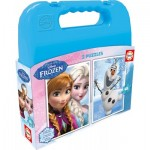 Educa-16514 2 Puzzles - La Reine des Neiges