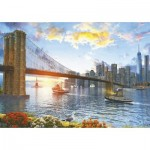 Puzzle  Educa-16782 New York Sunset