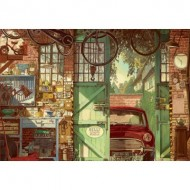 Puzzle  Educa-18005 Old Garage