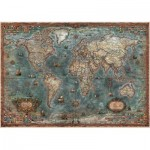 Puzzle  Educa-18017 Carte du Monde Antique