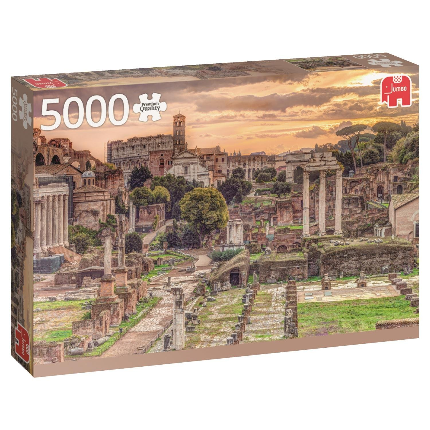forum romanum 5000 teile jumbo puzzle acheter en ligne. Black Bedroom Furniture Sets. Home Design Ideas