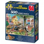 Puzzle  Jumbo-17277 Attrape le chat