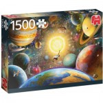 Puzzle  Jumbo-18866 Floating in Outer Space